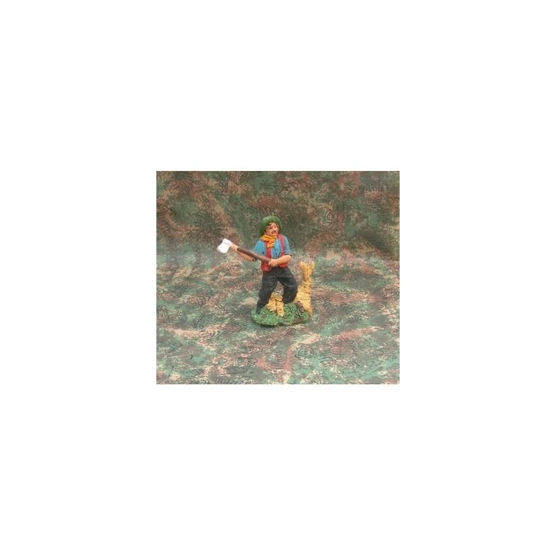 Mondo Presepi Boscaiolo cm 10 - Cod. Z10PS9