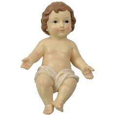 Bambin Gesù cm 22 in resina Mondo Presepi