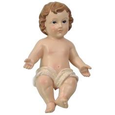 Bambin Gesù cm 14 in resina Mondo Presepi
