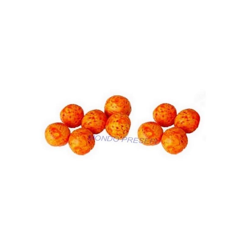 Mondo Presepi Set 10 mandarini
