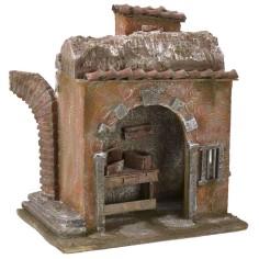 Bottega del fabbro cm 24x17,5x26 h per statue da 12 cm