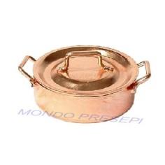 Copper pot 3x1 cm