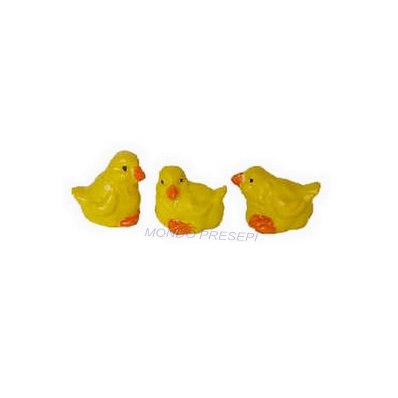 Set 3 Chicks 1.5 cm