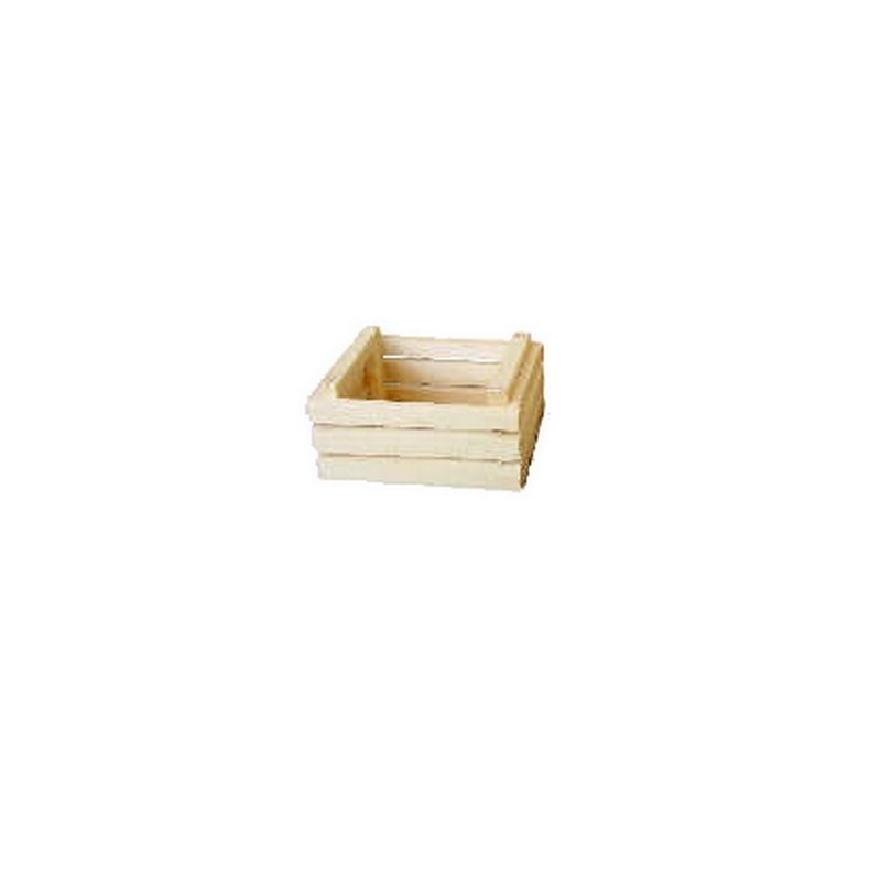 Wooden box 3.5x2.5 cm