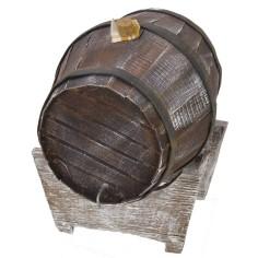 Barrel on base cm 14x12x16 h