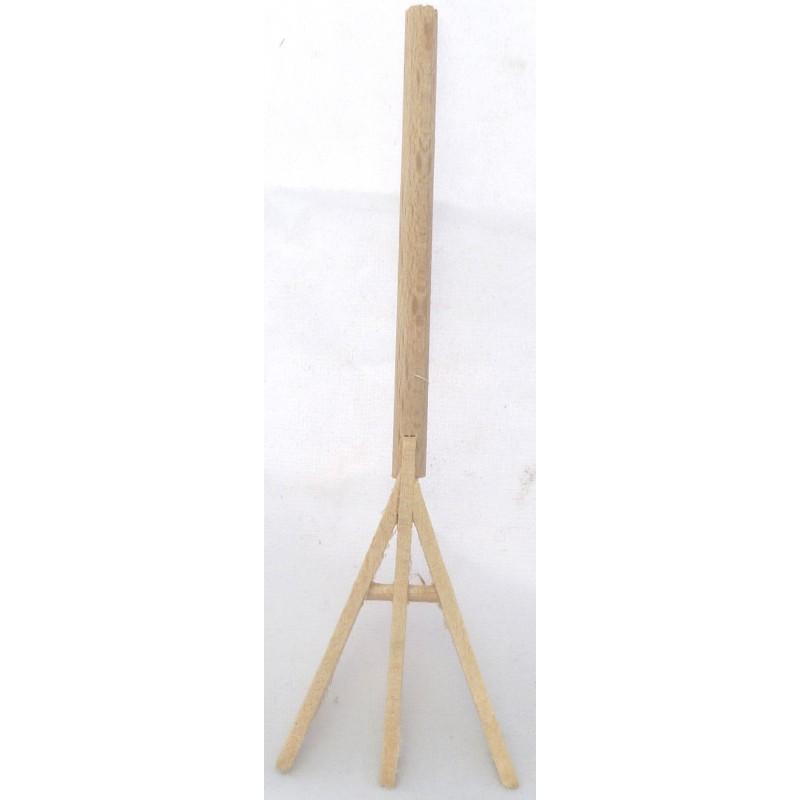 Wooden fork 9 cm