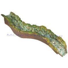 Mondo Presepi Fiume presepe in resina cm 52 - Elemento Diritto
