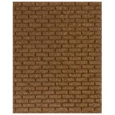 Large brick cork panel 25x20x1 cm