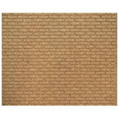 Large brick cork panel 10x50x1 cm in 3 parts