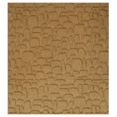 Cork panel with staggered stones 10x50x1 cm in 3 parts