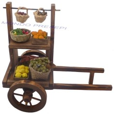 Aged wooden cart Greengrocer