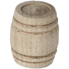 Botte in legno cm 1,8x2 h. Mondo Presepi