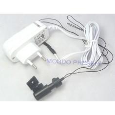 Illuminatore con fascio di fibre ottiche e Alimentatore incluso
