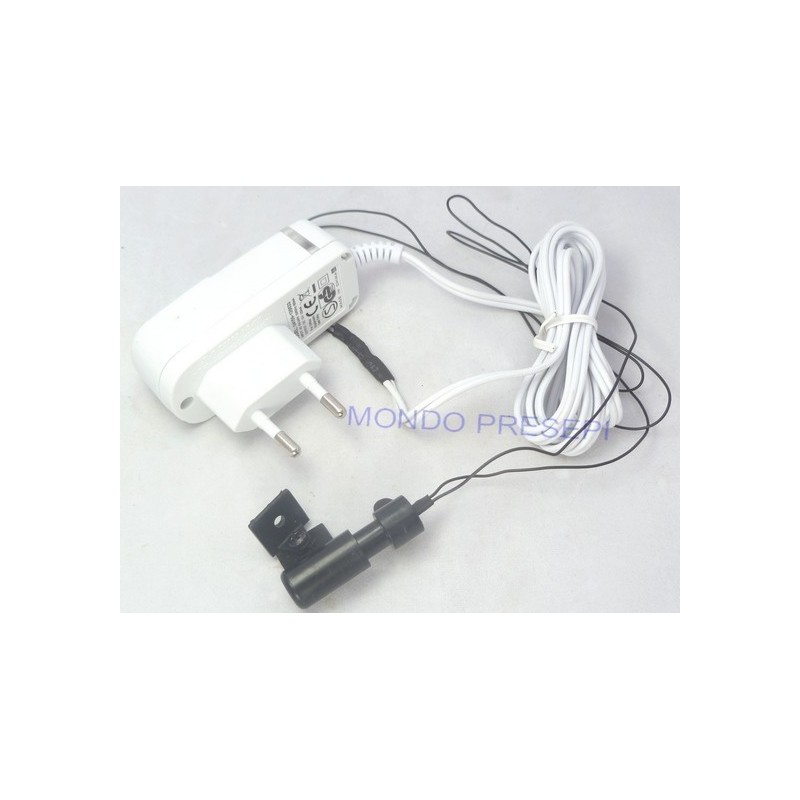 Microproiettore with power adapter included