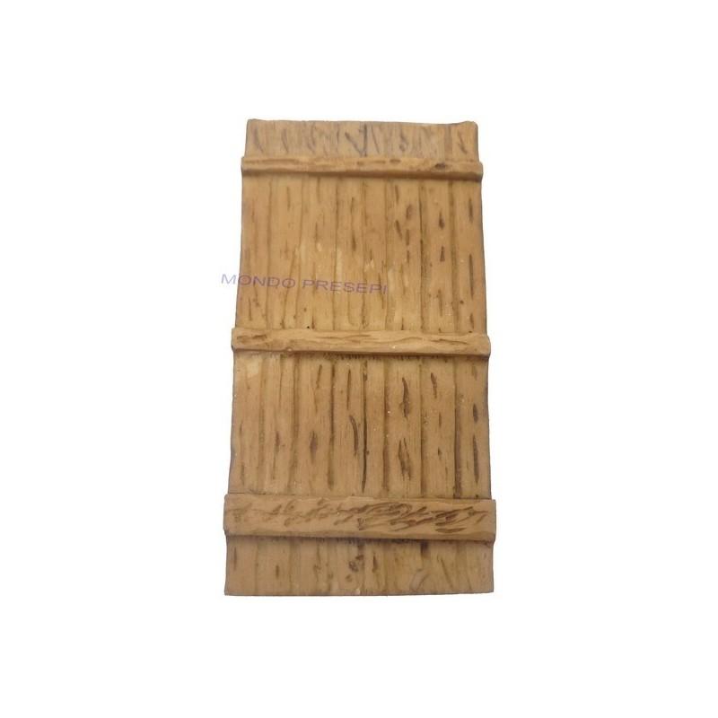 Mondo Presepi Porta in resina ef. legno misure: