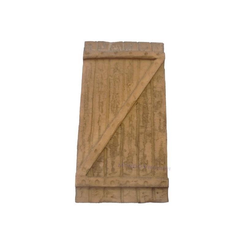 Mondo Presepi Porta in resina ef. legno varie misure