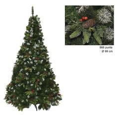 Albero di Natale Dalia 180 cm rami 996 Mondo Presepi