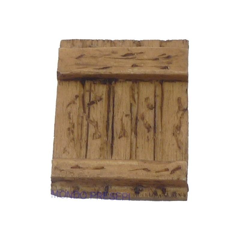 Mondo Presepi Finestra in resina ef. legno varie misure