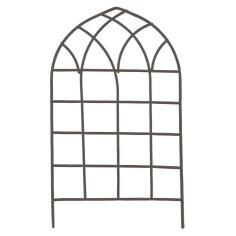 Cancello in metallo antracite cm 7,5x13 h Mondo Presepi