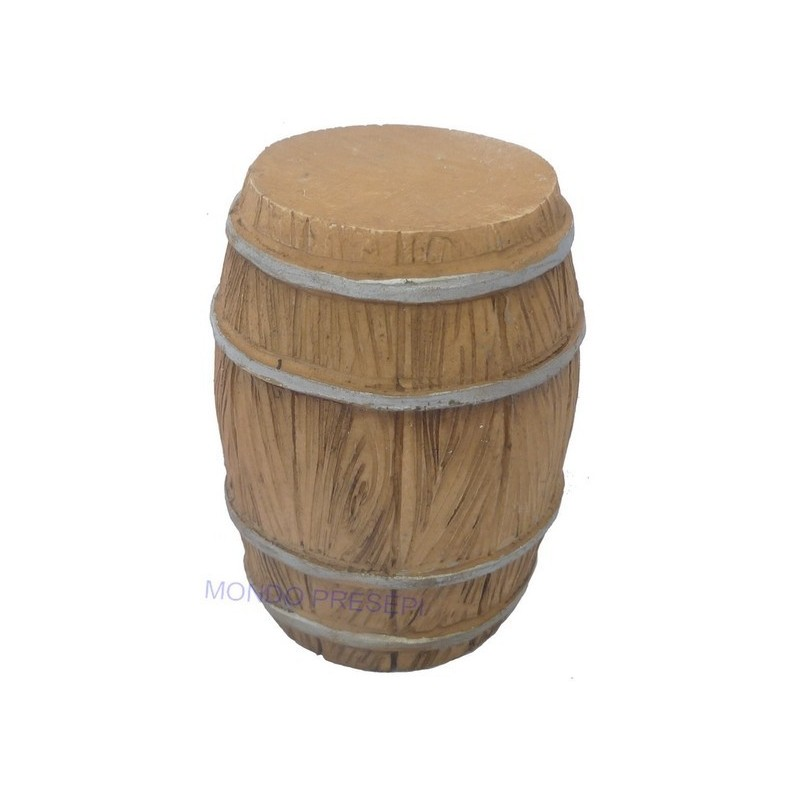 Mondo Presepi Botte in resina ef. legno - Tre misure disponibili