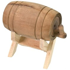 Barrel on base cm 5x2,8x4,8 h