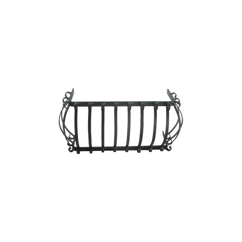 Medium rounded balcony railing 9x5 cm