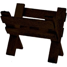 Mangiatoia in legno cm 3,5 Mondo Presepi