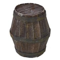 Barrel for Nativity cm 4,7Øx7 h