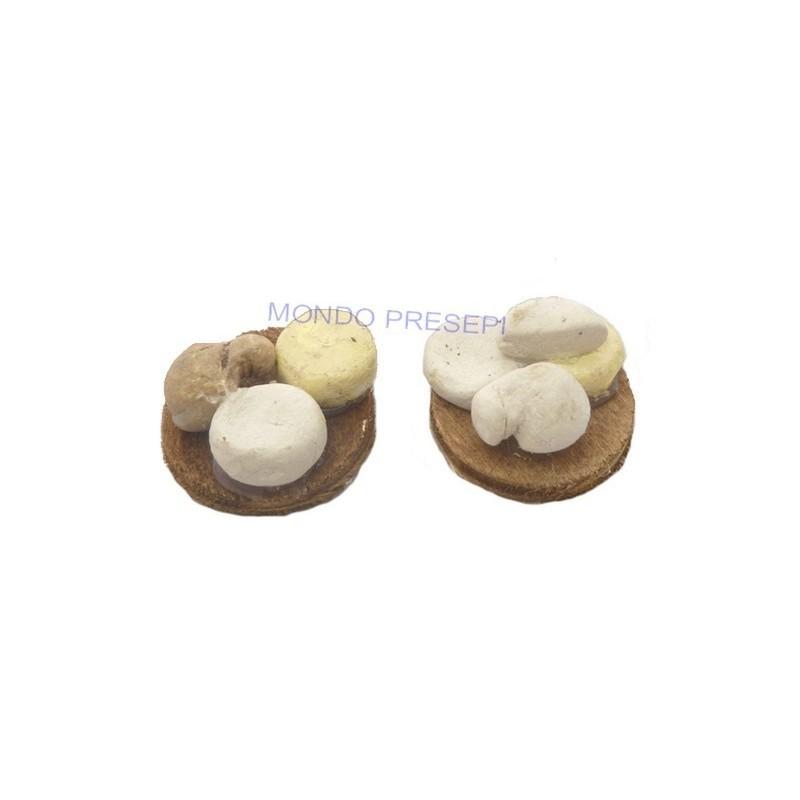 Mondo Presepi Set 2 taglieri con formaggi assortiti - D407