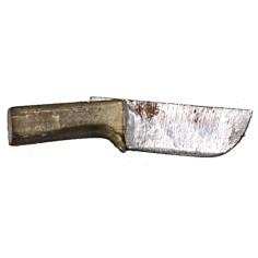 Coltello in metallo con manico anticato 2,1 cm Mondo Presepi