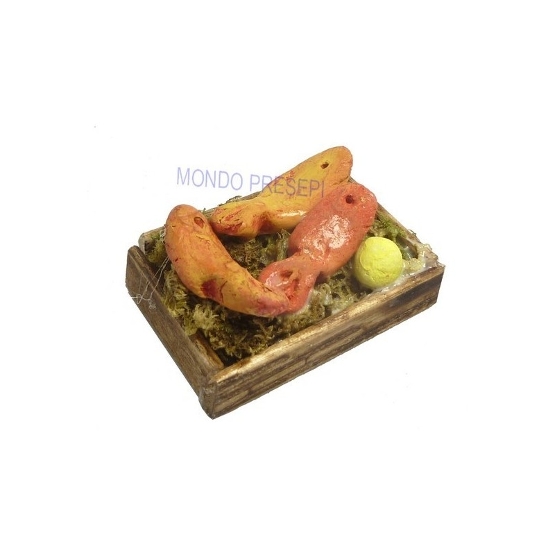 Fish box Tuna 4x3 cm