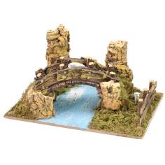 Bridge resin with sheep