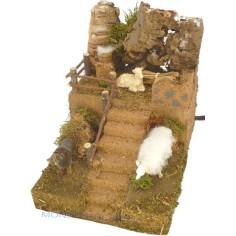 Cane e pecora in movimento - Cod. MA05