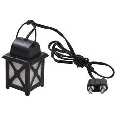 3.5v white medium lantern. cm 2x2x3.5-4.5 nativity scene