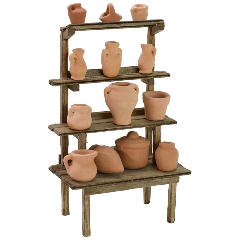 Amphora stand cm 10x5,5x15 h for Nativity scene