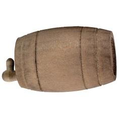 Botte in legno con rubinetto cm 6,1x3,5 ø Mondo Presepi
