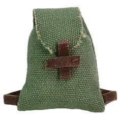 Fabric backpack 2.5x3 cm h