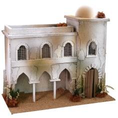 Casa araba con archi cm 40x20x36 h Mondo Presepi