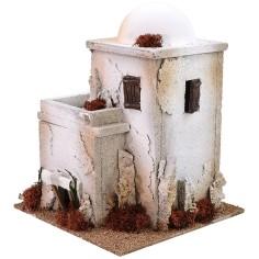 Casa araba con cupola cm 22x22x28 h Mondo Presepi