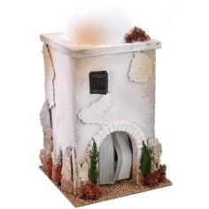 Casa araba con cupola e arco cm 15x15x26 h Mondo Presepi