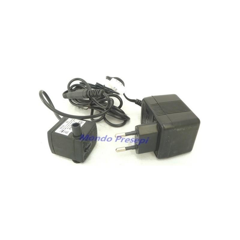 Mondo Presepi Pompa 200L/h 12 volt - cm 35 - PR12