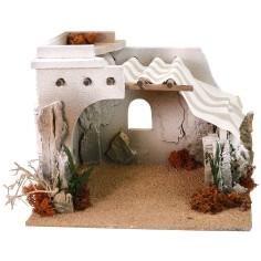 Arab hut cm 30.5x25x23 h