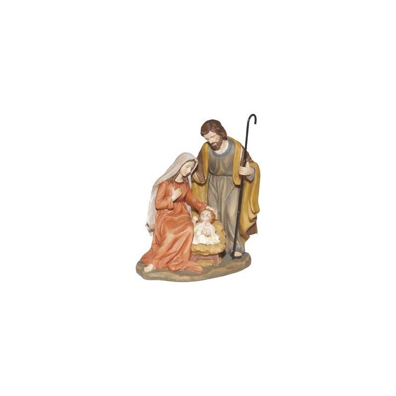 Nativity in resin 15 cm -K058