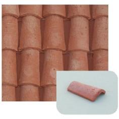 Coppi in terracotta misura mm 12x20 Formato da: