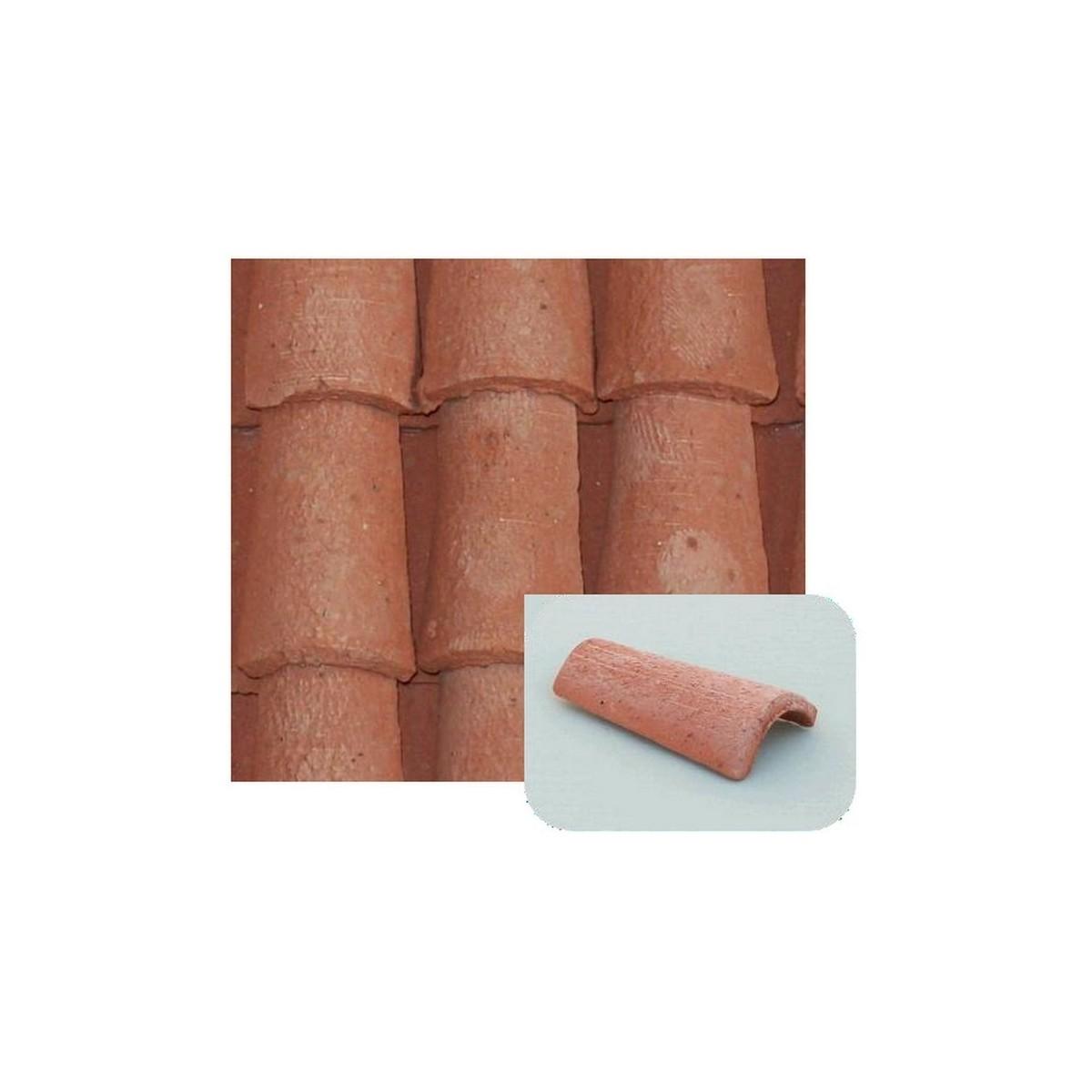 Coppi in terracotta mm 12x20 disponibile in