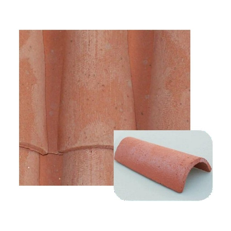 Terracotta tiles 25x45 mm available in: