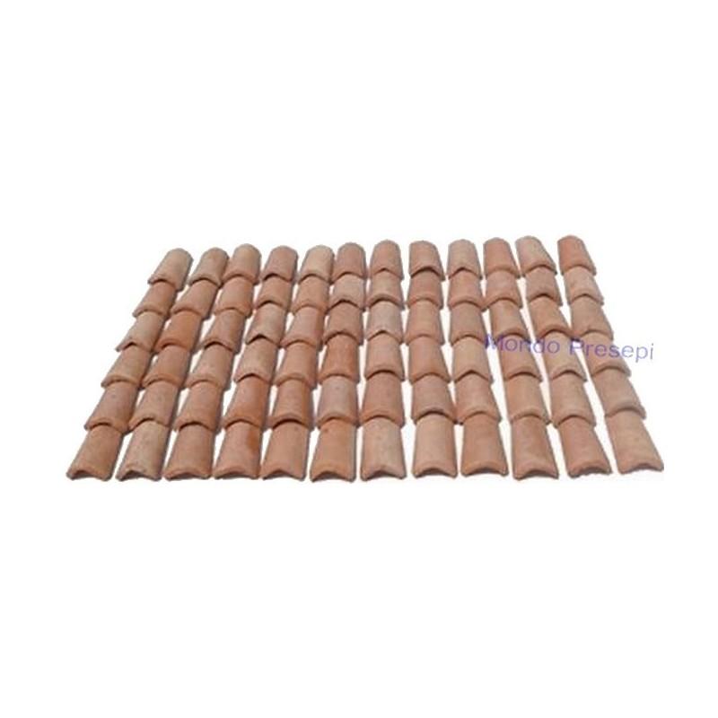 Coppi in terracotta mm 12x20 disponibile in:
