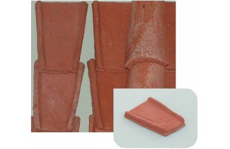 Roman terracotta tiles 17x27 mm available in: