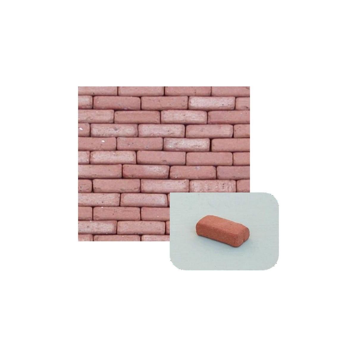 Mattoncini in terracotta mm 7x14x4 disponibile in