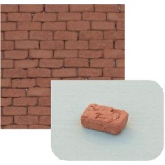 Terracotta bricks mm 7x3x2,8 available in: